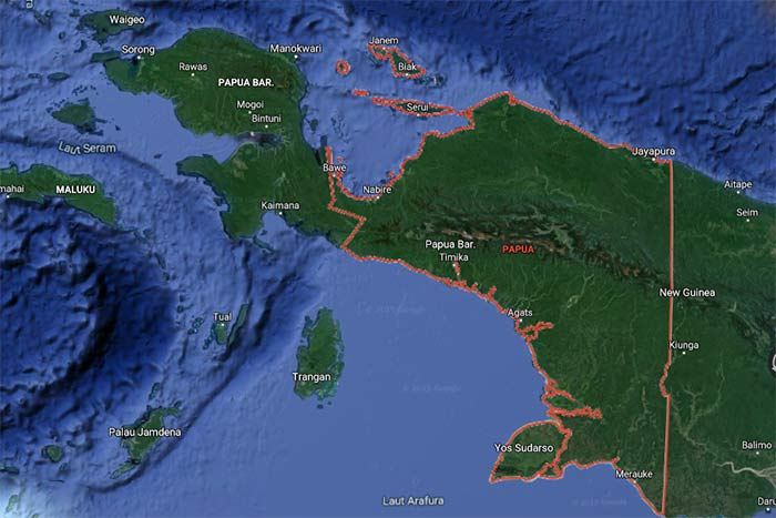 wilayah pulau papua
