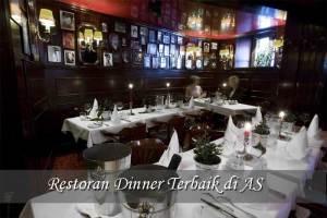 Restoran Dinner dengan Layanan Terbaik di AS