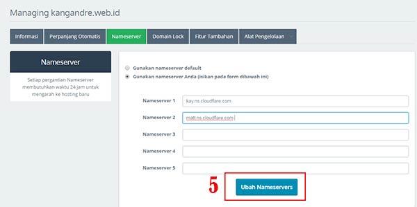 nameserver registrar domain