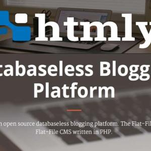 HTMLy Platform Blogging PHP