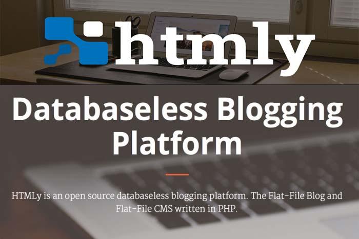 HTMLy Platform Blogging PHP