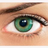 Lentes de contato coloridas: Verde