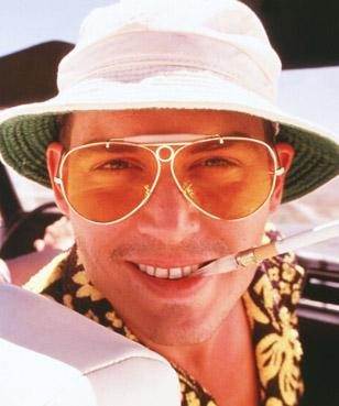 Medo e Delírio em Las Vegas – Óculos – Johnny Depp – Ray Ban RB3138