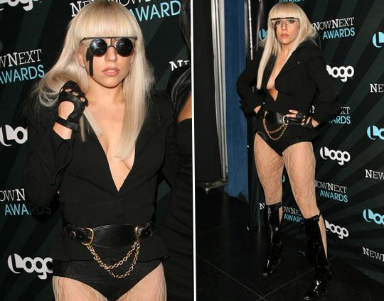Lady Gaga de Óculos de Escuros