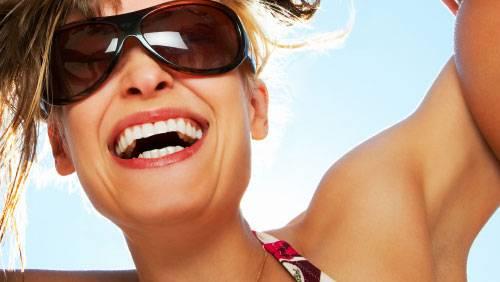 Adquira óculos com proteção UVA e UVB