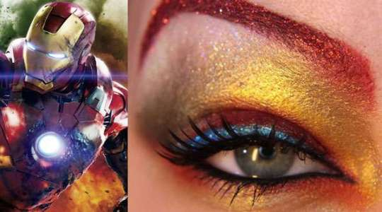 Maquiagem Homem de Ferro