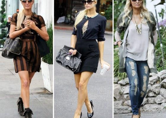 Paris Hilton nas ruas