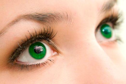 Mehrfarbige Augen