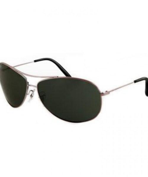 ray-ban aviador lente verde