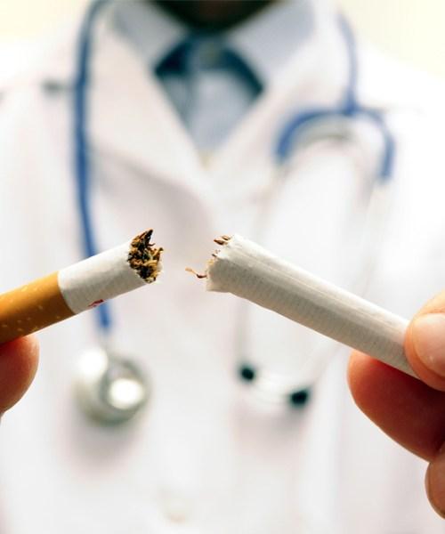 fumar faz mal para a visão