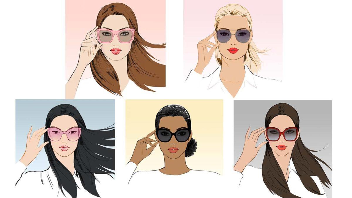 d370aac1290 Confira nossa sugestão de óculos de sol para cada tipo de rosto ...