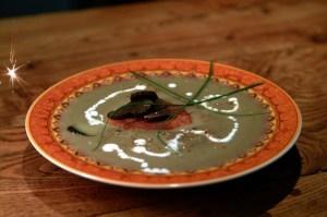 Délice de lentilles blondes de Saint-Flour au foie gras