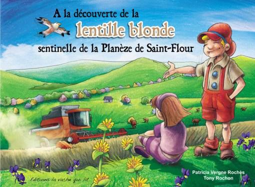 Une BD ludique sur la lentille blonde avec les Éditions La Vache qui lit