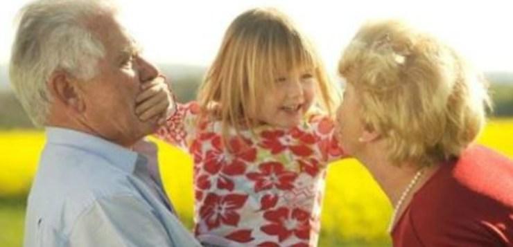 I nonni, gli Angeli Bianchi