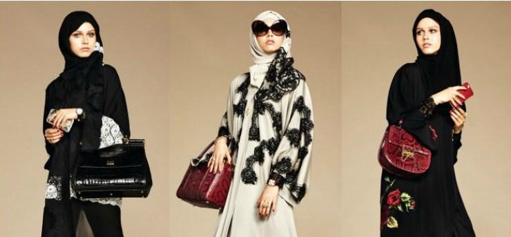 La collezione per le donne islamiche di Dolce & Gabbana