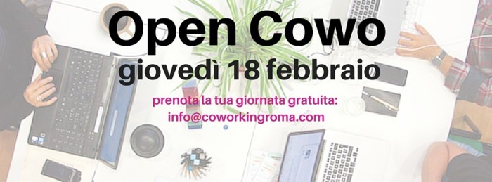 coworking roma open day