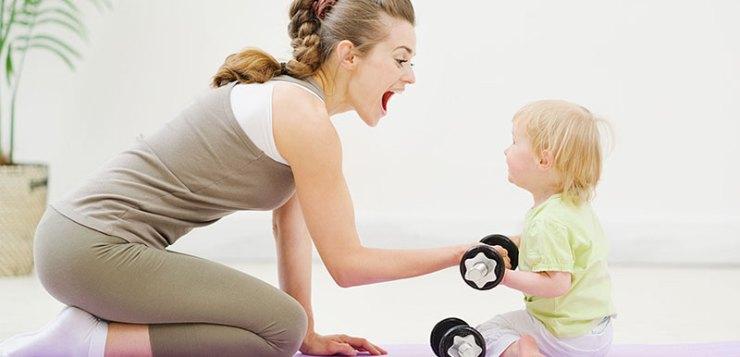 Cinque suggerimenti per tornare in forma dopo il parto