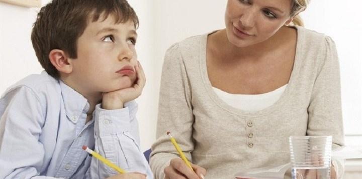Se faccio i compiti al posto di mio figlio