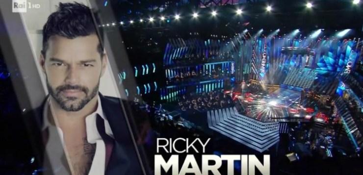 Ricky Martin a Sanremo, primo ospite internazionale