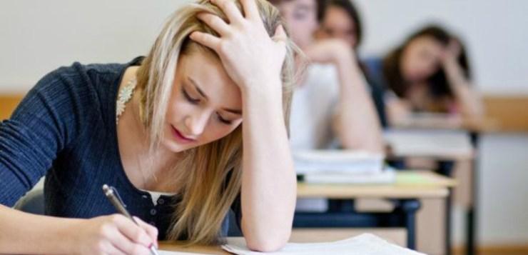 In Italia scuola fa rima con ansia