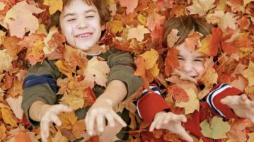 autunno bambini