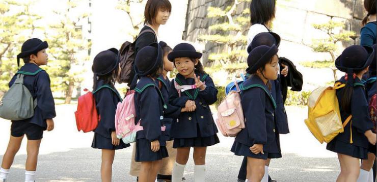 Scuola e uniformi in Giappone