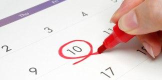 calendario dell'ovulazione