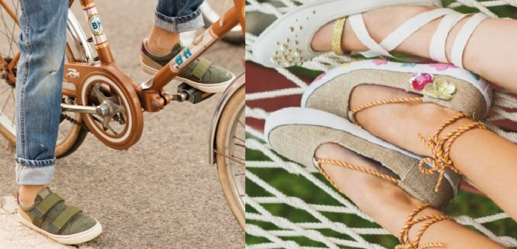 Scarpe comode e stilose per bambini in movimento