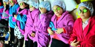 spa party per bambine