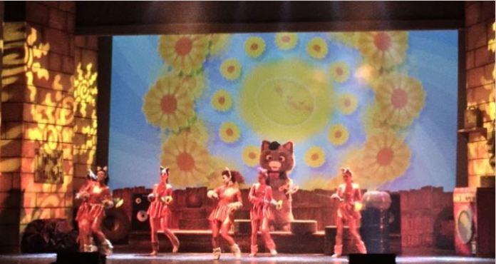 44 gatti live show Gas