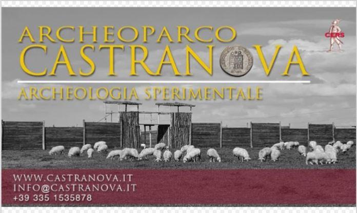 Archeoparco Castranova copertina