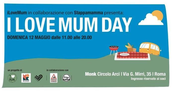 I Love Mum Day MONK