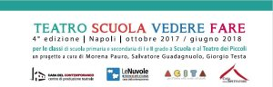 Teatro Scuola Vedere Fare scadenza invio moduli di iscrizione @ Teatro dei Piccoli | Napoli | Campania | Italia