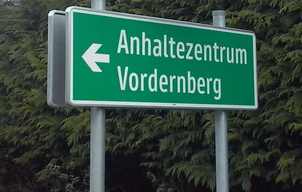Schubhaftzentzrum Vordernberg