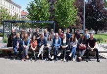 """Jugendmanagerin Valerie Böckel (li.) mit den Mitgliedern des """"Arbeitskreises Jugend Obersteiermark Ost"""" bei ihrer letzten Vernetzung"""