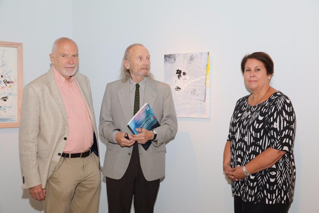 Im Bild v.l.n.r.: Gotthard Fellerer, Paul Zwietnig-Rotterdam, Susanne Leitner-Böchzelt