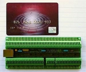 BU0836X 12Bit Joystick Board [BU0836X]  4999GBP : Leo Bodnar, Simulator Electronics