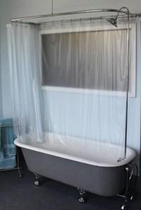 Add Shower To Clawfoot Tub   Home Decor & Renovation Ideas