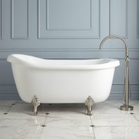 Jetted Clawfoot Tub - Bathtub Designs