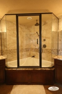 Soaking Tub Shower Combination - Bathtub Designs