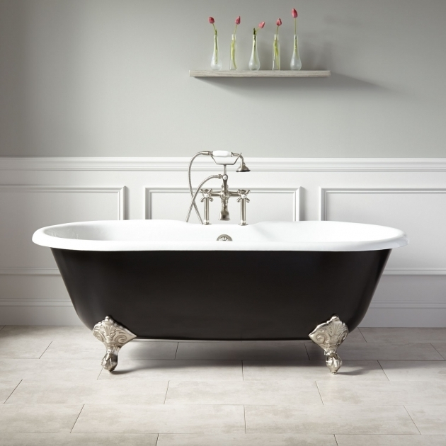 Colored Clawfoot Tub Bathtub Designs
