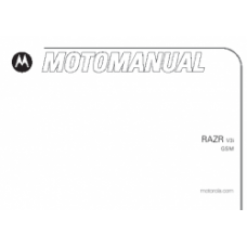 MANUAL DO USUARIO MOTOROLA RAZR V3I USADO