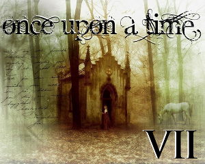 Banner for the seventh Once upon a Time challenge. Art by Melissa Nucera.