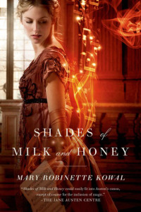 Cover for Shades of Milk and Honey by Mary Robinette Kowal.