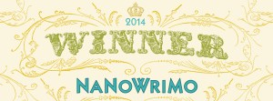 NaNoWriMo 2014 Winner Web Badge