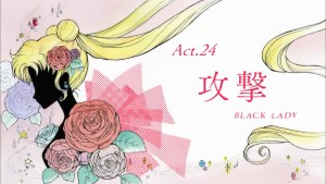 Sailor Moon Crystal: Act 24, Attack, Black Lady