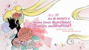 Sailor Moon Crystal Act 30: Infinity 4, Sailor Uranus, Haruka Tenoh, Sailor Neptune, Michiru Kaioh