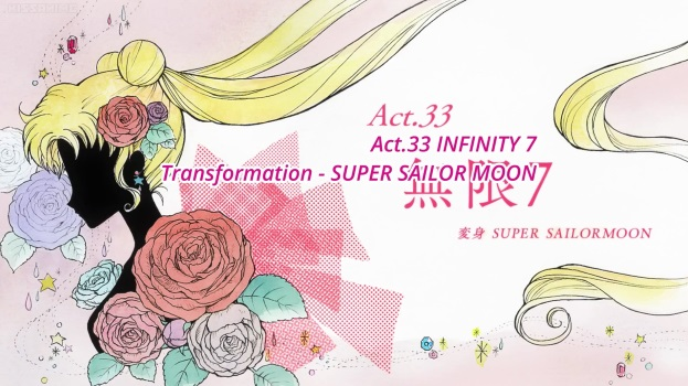 Sailor Moon Crystal Act 33: Infinity 7, Transformation - Super Sailor Moon