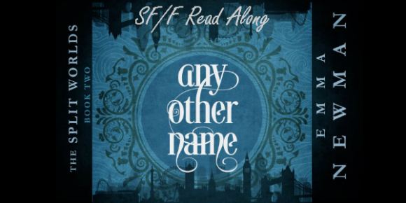Readalong Banner: Any Other Name by Emma Newman