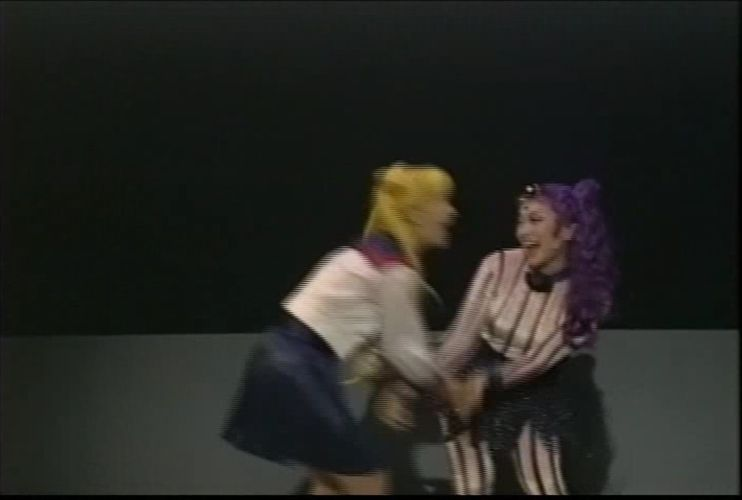 Usagi and Kouan from Sera Myu Tanjou! Ankoku no Princess Black Lady